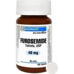 Furosemide Tablets 40mg 100 Tablets