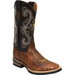 Ferrini Mens Acero Square Toe Cigar Boots 10.5EE found on Bargain Bro Philippines from Horse.com for $189.99