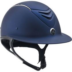 One-K Defender AVANCE Wide Brim Chrome Helmet LG N found on Bargain Bro India from Horse.com for $259.95