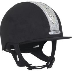 Champion X-Air Dazzle Plus Helmet 6 7/8 Black/Silv found on Bargain Bro Philippines from StateLineTack.com for $249.95