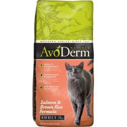 AvoDerm Natural Adult Cat Food - Salmon and Brown Rice