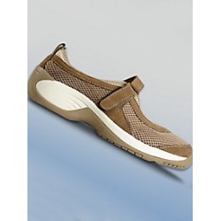 Women's Ped-Lite Debbie Casual Mary Jane, Brown, Size 7 found on Bargain Bro Philippines from Haband for $139.95