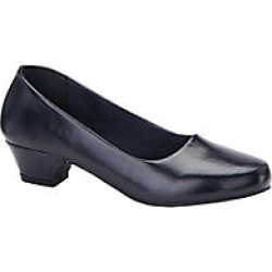 Women's Comfort Well by Beacon Classic Comfort Pumps, Navy, Size 9 Wide found on Bargain Bro Philippines from Haband for $24.99