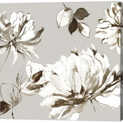Botanical Gray II Canvas Art title=