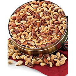 Deluxe Mixed Nuts - Unsalted - 1 lb