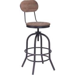 Zuo Modern Chaise de bar Twin Peaks
