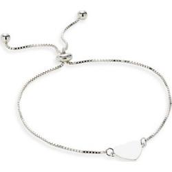Jewellery Sterling Silver Adjustable Slider Bracelet
