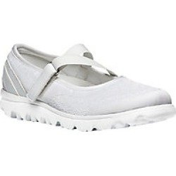 Women's Propt TravelActiv Mary Jane, White, Size 6 XX found on Bargain Bro Philippines from Haband for $59.99