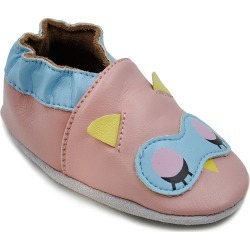 Girls Soft Sole Leather Baby Shoes
