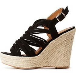 Espadrille Wedge Strappy Sandals