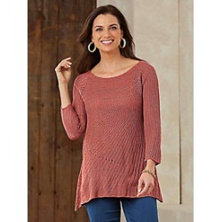 Open-Weave Sweater found on MODAPINS from Haband for USD $19.99