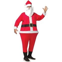 Santa Adult Hoopster Adult Costume