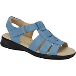 Women's Dr. Scholl's Leather T-Straps, Chambray, Size 7 Wide found on Bargain Bro Philippines from Haband for $44.99
