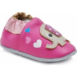 Leather Crib Bootie Baby Shoes