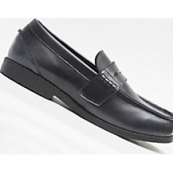 Men's Ped-Lite Scott Penny Loafer Dress, Black, Size 14 Wide found on Bargain Bro Philippines from Haband for $139.95