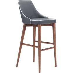 Zuo Modern Chaise de bar Moor