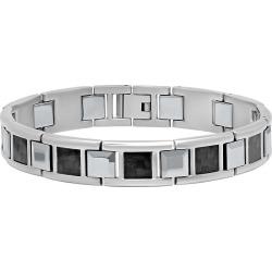 Steel and Tungsten Bracelet