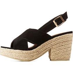Qupid Platform Espadrille Sandals