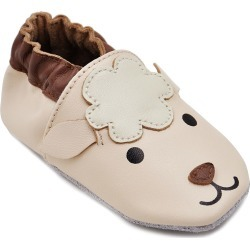 Unisex Soft Sole Leather Baby Shoes
