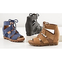 ff2dac1b6609 Eastern Mountain Sports. Sorel Women s Joanie Lace Wedge Sandal - Size 11.   99.98. Sorel Joanie II Lace Sandal