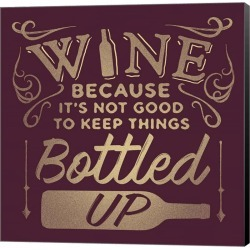 Bottled Up Canvas Wall Art title=