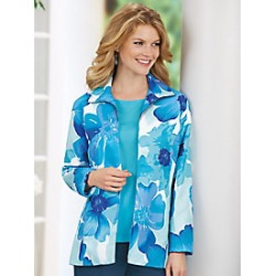Floral Blazer found on MODAPINS from Haband for USD $27.99
