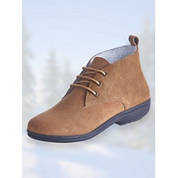 Sherpa Lined Lace-Up Boots found on Bargain Bro Philippines from Blair for $27.99