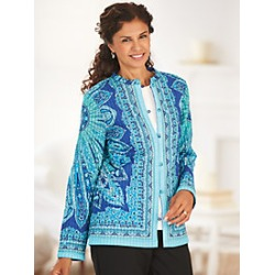 Quilted Reversible Jacket found on MODAPINS from Blair for USD $56.99