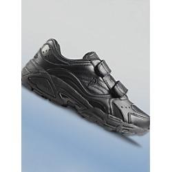 Men's Ped-Lite Austin Strap Athletic Shoe, Black, Size 9 Wide