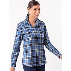 Foxcroft Non-Iron Newport Plaid Shirt