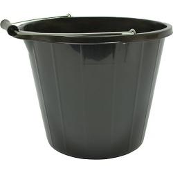 Strata Multi Purpose Builders Bucket 14L Black