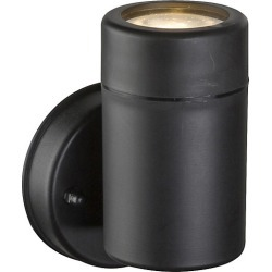 Globo 32005-1 Outdoor 5W IP44 Black Plastic Wall Light - 221741 found on Bargain Bro from City Plumbing for £12