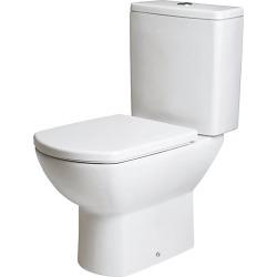 iflo Capra Soft Close Toilet Seat - 753690 found on Bargain Bro UK from City Plumbing