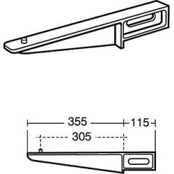 Armitage Shanks S922167 Pair Aluminium Alloy Build in Brackets - 840545