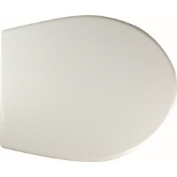 Twyford Alcona Soft Close Toilet Seat & Cover AR7853WH - 885404 found on Bargain Bro UK from City Plumbing