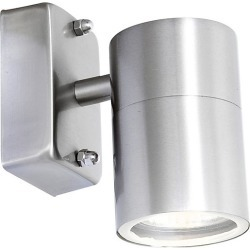 Globo 3201L Outdoor 5W IP44 Stainless Steel Wall Light - 221517 found on Bargain Bro from City Plumbing for £30