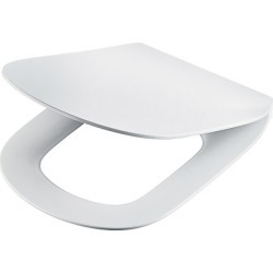 Ideal Standard Tesi Thin Toilet Seat and Cover Slow Close White T352701 - 176872 found on Bargain Bro UK from City Plumbing