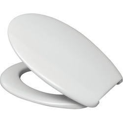 Standard White Toilet Seat & Cover - 463122 found on Bargain Bro UK from City Plumbing