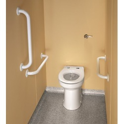 Twyford Doc M Rimless Ambulant Back to Wall Pack White found on Makeup Collection from City Plumbing for GBP 521.36