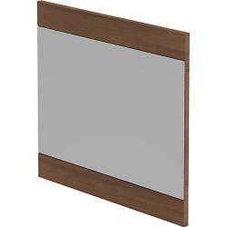 Be Modern Linear Mirror Walnut 600x550 mm found on Bargain Bro UK from City Plumbing