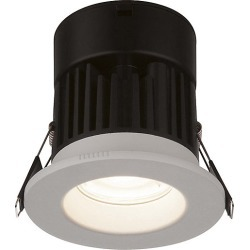Globo Brushed White Recessed Cool White Downlight - 221249 found on Bargain Bro from City Plumbing for £8