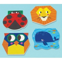 Animal Notepads - Party Favors 8/Pkg found on Bargain Bro India from A Cherry On Top Crafts for $3.97