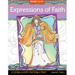 Expressions Of Faith Coloring Book - Design Originals
