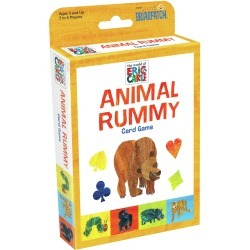 Eric Carle Animal Rummy Card Game