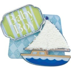 Baby Boy Lil' Stack Stickers by Karen Foster found on Bargain Bro India from A Cherry On Top Crafts for $1.99
