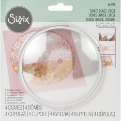 3 1/2 inches  Circle Making Essentials Shaker Domes - Sizzix found on Bargain Bro from A Cherry On Top Crafts for USD $4.55