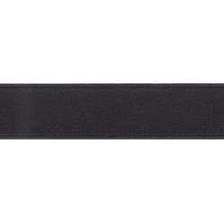 "Black - Single Face Satin Ribbon 1-1/2""X12'"