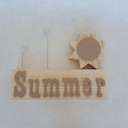Summer Complete Set Picture Holder - Foundations Decor found on Bargain Bro India from A Cherry On Top Crafts for $13.19