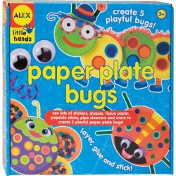 Paper Plate Bugs Kit