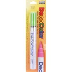 Light Green - DecoColor Broad Glossy Oil-Based Paint Marker found on Bargain Bro India from A Cherry On Top Crafts for $3.89